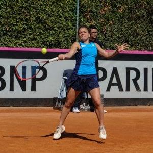 Tennis, Fed Cup: Paolini ko, Errani rimedia. Italia-Spagna 1-1