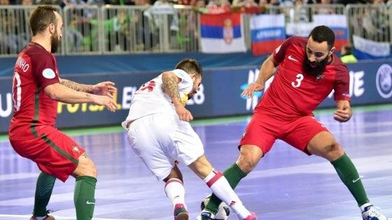 Calcio a 5, Europei: la Spagna abdica, Portogallo campione per la prima volta