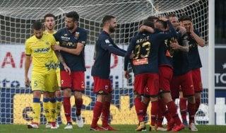 Chievo-Genoa 0-1: Laxalt è l'uomo del recupero, veneti in crisi nera