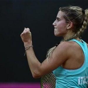 Tennis, Fed Cup: Errani e Chiesa tutto cuore, le azzurre stendono la Spagna