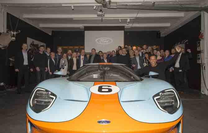 Consegnata la prima Ford GT in Europa