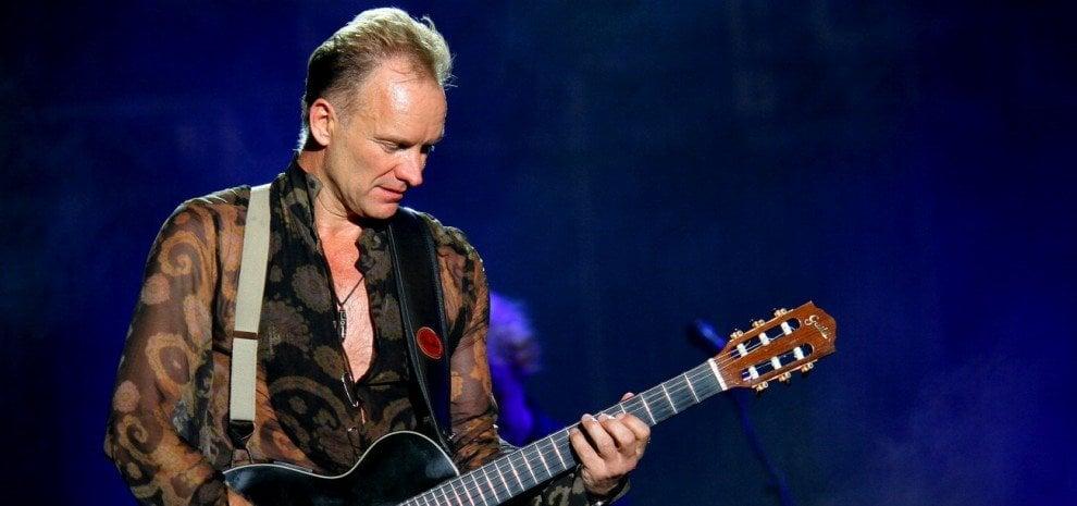 Sting annuncia il tour: il 28 luglio a Roma, il 29 all'Arena di Verona