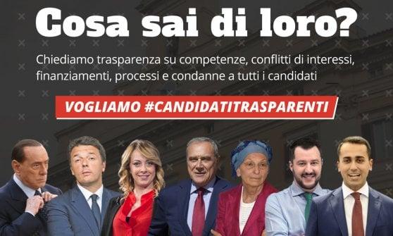 """""""Sai chi voti"""", al via la campagna sulla trasparenza dei candidati"""