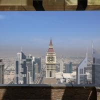 Dubai. I 356 metri del Gevora, l'hotel più alto del mondo