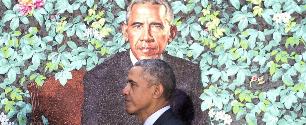 Svelati i ritratti di Michelle e Barack Obama: due pittori afroamericani entrano nella storia