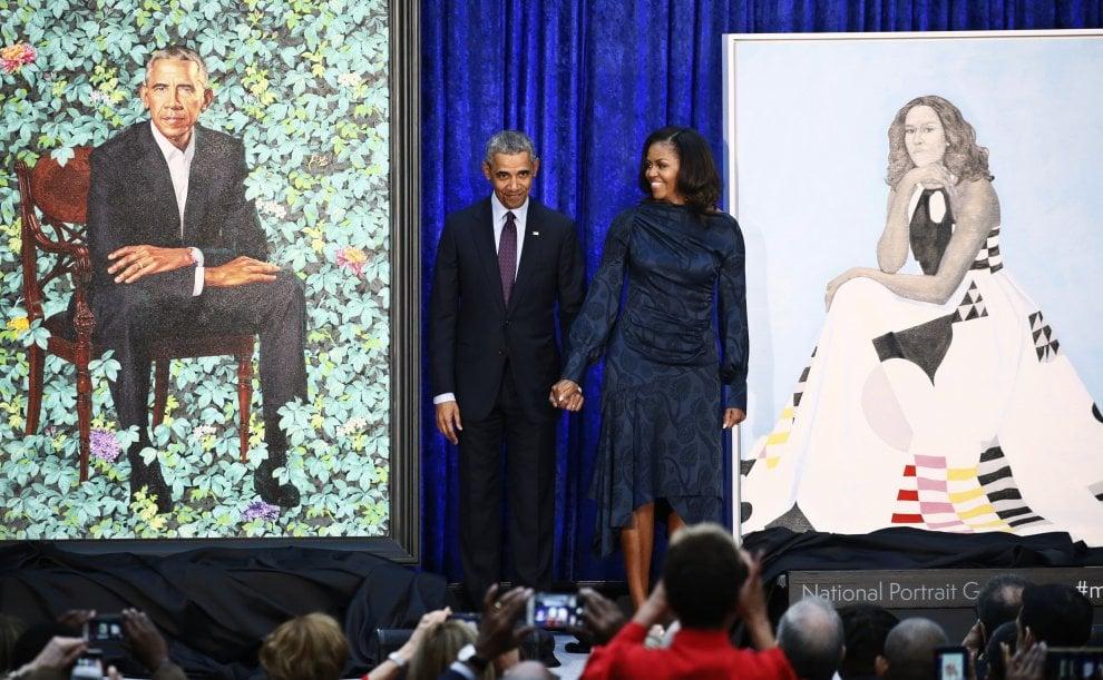 I ritratti di Michelle e Barack Obama per la National Portrait Gallery