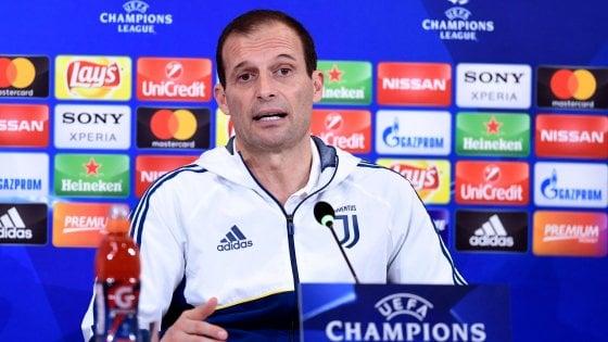 """Juventus, Allegri: """"Testa e tecnica, ma guai a metterla sul piano fisico"""""""