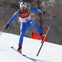 Pyeongchang 2018, le acrobazie degli sciatori nella combinata tormentata dal vento