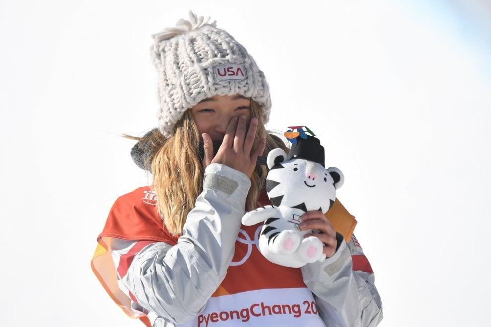 Pyeongchang 2018: Chloe Kim, oro a 17 anni nello Snowboard. È lei il volto dei Giochi