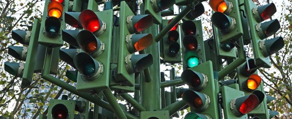 I semafori intelligenti per l'auto a guida autonoma