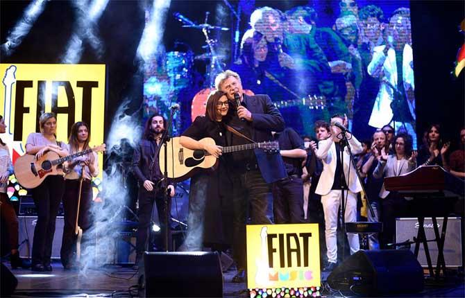 Fiat Music, numeri record a Casa Sanremo
