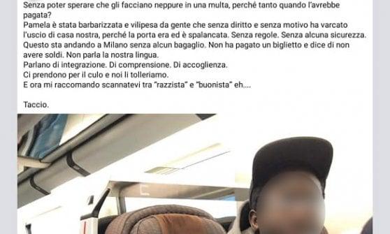 Sul treno senza biglietto: il post scatena l'odio su Facebook. Ma è tutto falso