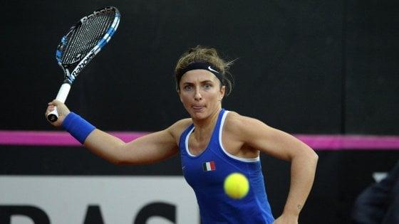 Tennis, Fed Cup: per le azzurre ostacolo Belgio per il ritorno nel World Group