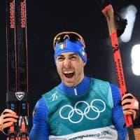PyeongChang2018, sci di fondo: Pellegrino d'argento nella sprint a tecnica classica