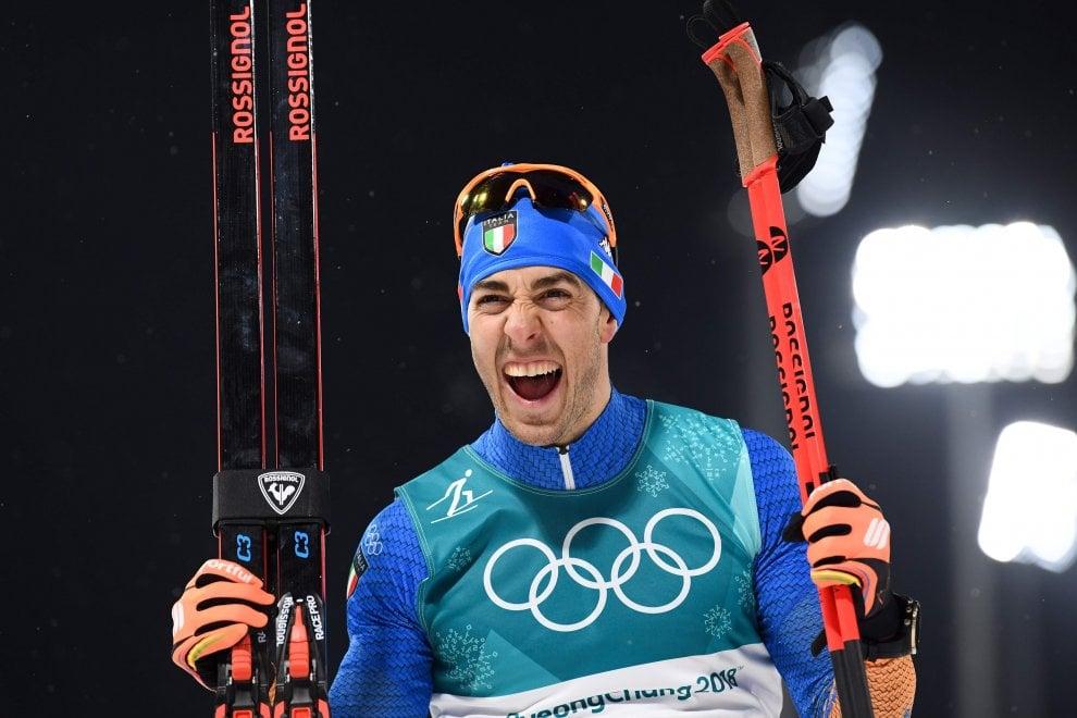 PyeongChang 2018, sci di fondo: la volata d'argento di Federico Pellegrino