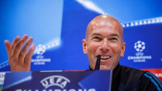 Real Madrid-Psg, Zidane: ''Nulla da dimostrare, per me è un derby''