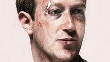 Cerotti e lividi per Zuckerberg: la crisi di Facebook in copertina