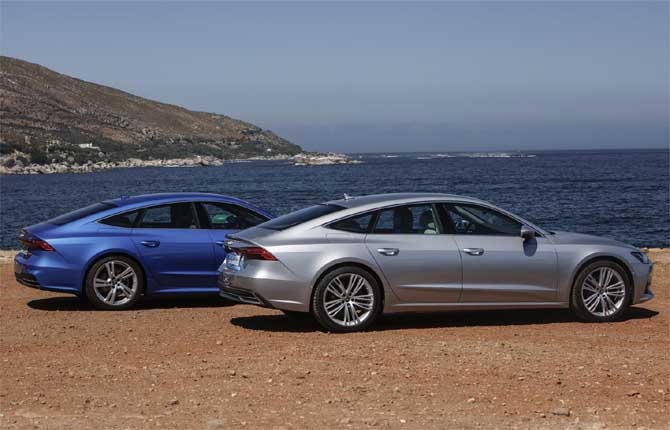 Audi A7 Sportback, via agli ordini