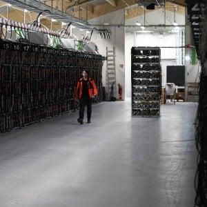 Una 'miniera' di Bitcoin a Keflavik, in Islanda