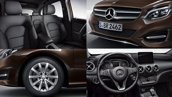 Mercedes Classe B Tech, in nome delle tecnologia