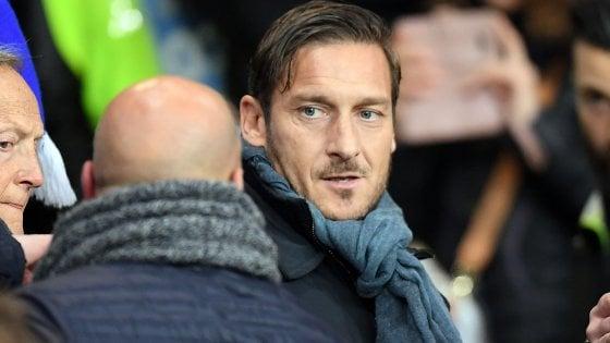 """Roma, Totti: """"Con Spalletti non c'è stato e mai ci sarà un chiarimento"""""""