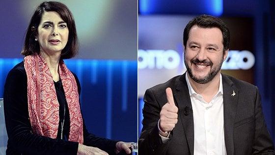 Verso le elezioni 2018: primo duello tv tra candidati, scintille Salvini-Boldrini