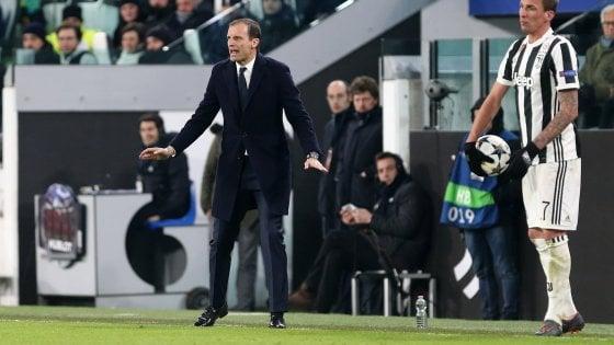 "Juventus, Allegri: ""A Londra possiamo vincere, guai a deprimere l'ambiente"""
