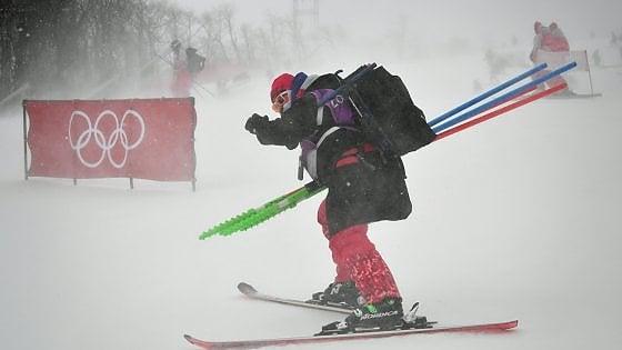 Pyeongchang 2018, il maltempo non dà tregua: rinviato lo slalom donne, spostate anche le gare di biathlon