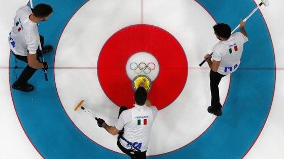 PyeongChang 2018, curling: esordio con sconfitta per l'Italia, poi vittoria sulla Svizzera