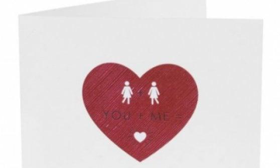 Gb, svolta storica per Sainsbury: stesso sesso sui biglietti per San Valentino
