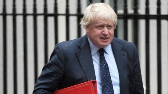 """Johnson sulla Brexit: """"Non è una minaccia alla nostra economia, ma un'opportunità"""""""