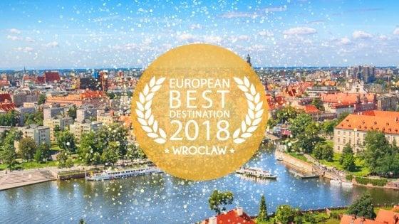 Alla polacca Breslavia l'Oscar del turismo europeo. Da podio Bilbao e Colmar