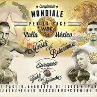 Boxe, non solo pugni: presentato Marsili-Betancourt, mondiale per la pace