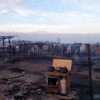 Gioia Tauro, due settimane dopo il rogo mortale ancora disastrose le condizioni