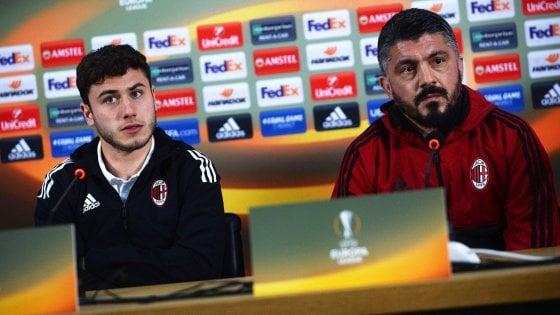 """Milan, Gattuso non sottovaluta il Ludogorets: """"In campo i titolari, voglio dare continuità a questo buon momento"""""""