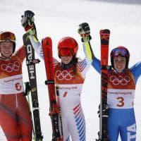 PyeongChang 2018, Brignone bronzo in gigante