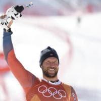 PyeongChang 2018, Svindal oro e record: è il più 'vecchio' campione olimpico nello sci