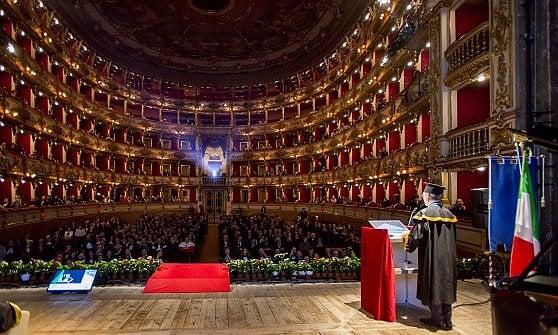 La cerimonia si è svolta al Teatro Grande di Brescia (credit Tiziana Arici)