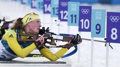 Oeberg oro nella 15 km, Wierer  solo settima con due errori al tiro