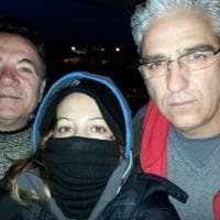 Alcoa, la protesta sul silos