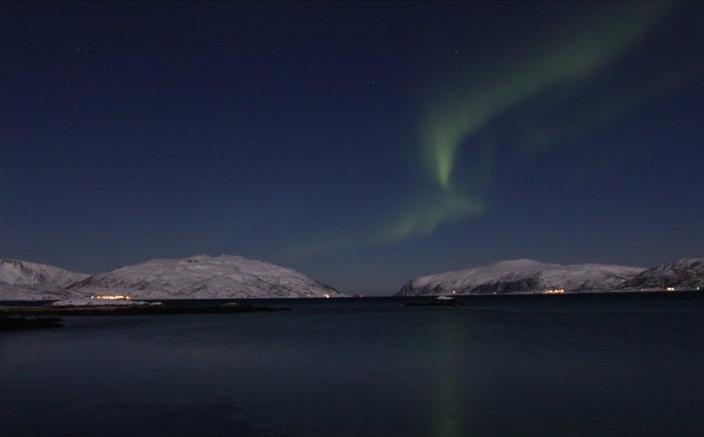 Aurora boreale, lo spettacolo nei cieli della Norvegia