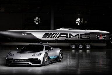Idea Mercedes-AMG: il motoscafo da F1