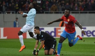 Steaua-Lazio 1-0, Gnoheré castiga i biancocelesti