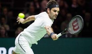 Tennis, Rotterdam: Federer ai quarti e ad un successo dal trono mondiale