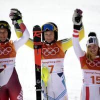 PyeongChang 2018, sci: Hansdotter vince slalom, Shiffrin fuori dal podio