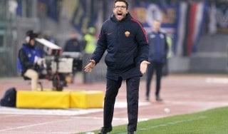 """Roma, Di Francesco: """"Basta chiacchiere, servono fatti per risalire"""""""