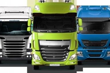 In picchiata il trasporto merci su strada