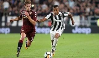 """Juventus, Alex Sandro: """"Voglio vincere tutto. Mercato? Resto a Torino"""""""