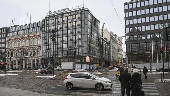 Una via di Helsinki, Finlandia
