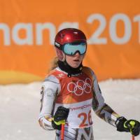 PyeongChang 2018, l'incredulità sul volto di Ester Ledecka dopo la vittoria